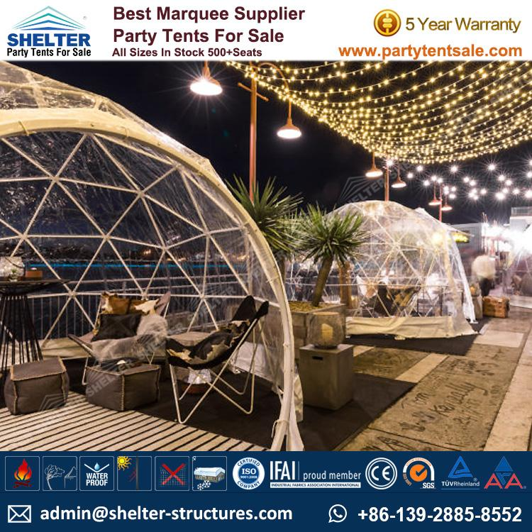 Shelter Party Tent Sale - Pop Up Dome Tent - Geodesic Dome - Dome - Dome Tent - Event Dome - Party Dome for Sale - Party Tent for Sale (53)