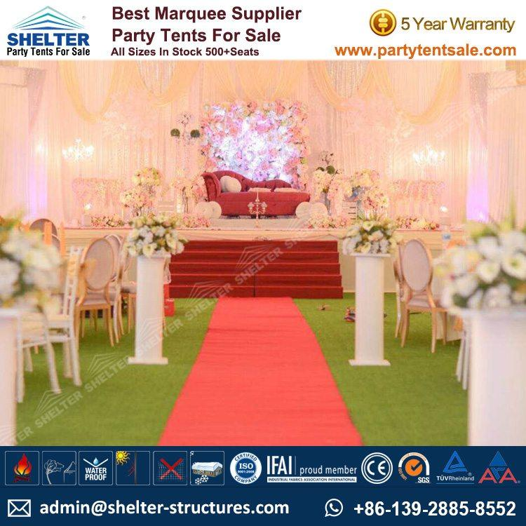 Shelter Party Tent Sale - White Wedding Tent - Party Tent - Party Marquee - Wedding Marquee - Tent for Wedding - Reception Tent - Party Tent for Sale (152)