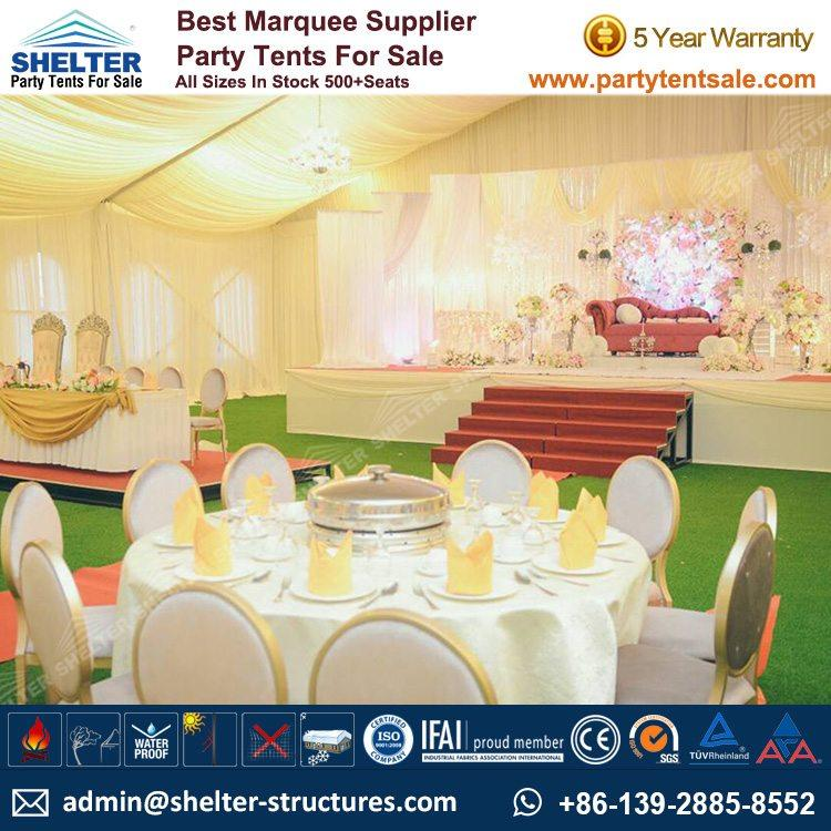 Shelter Party Tent Sale - White Wedding Tent - Party Tent - Party Marquee - Wedding Marquee - Tent for Wedding - Reception Tent - Party Tent for Sale (153)