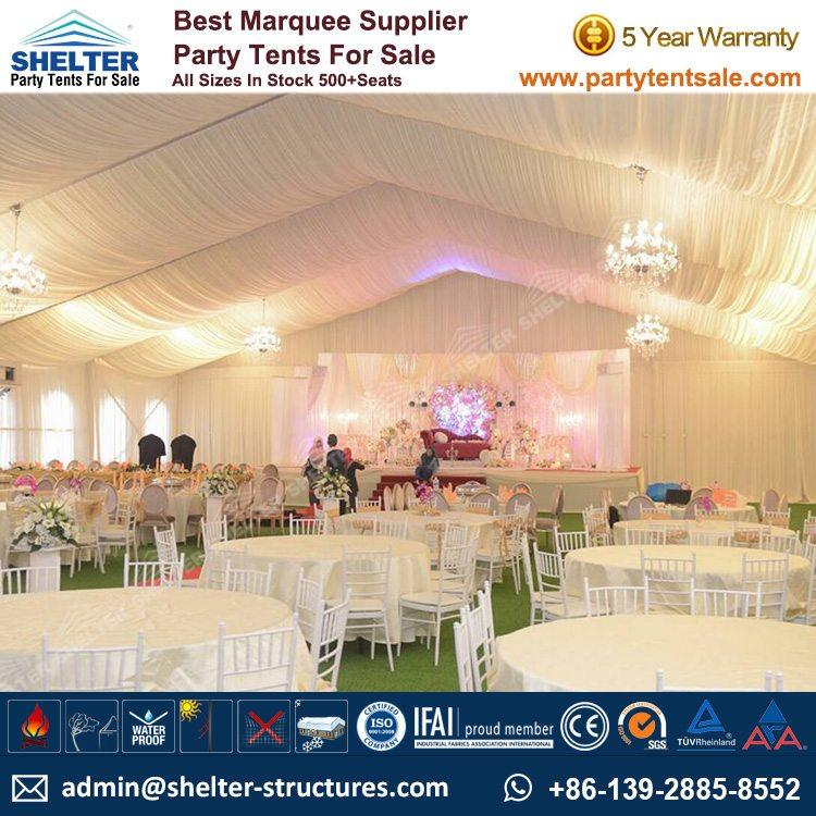 20 Meters Span White Wedding Tent Sale In Malaysia Party Tent Sale