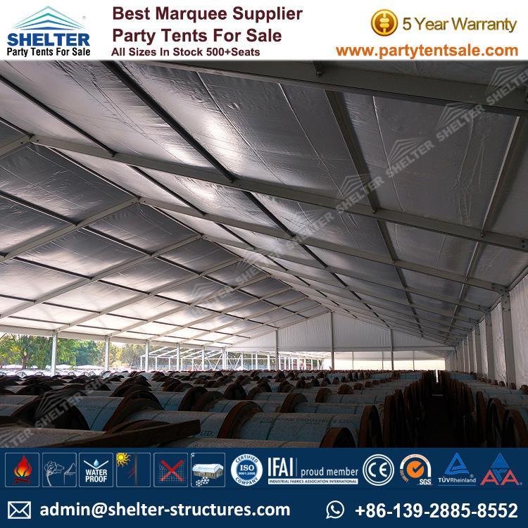 Shelter Party Tent Sale - Temporary Outside Storage - Warehouse Tent - Storage Tent - Tent for Storage - Temporary Structure - Party Tent for Sale (25)