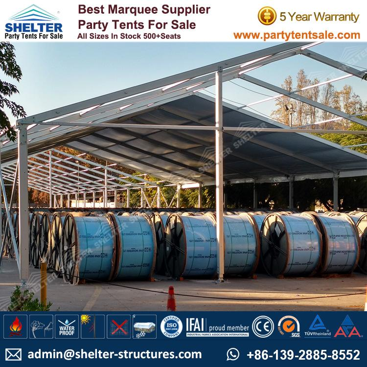 Shelter Party Tent Sale - Temporary Outside Storage - Warehouse Tent - Storage Tent - Tent for Storage - Temporary Structure - Party Tent for Sale (31)