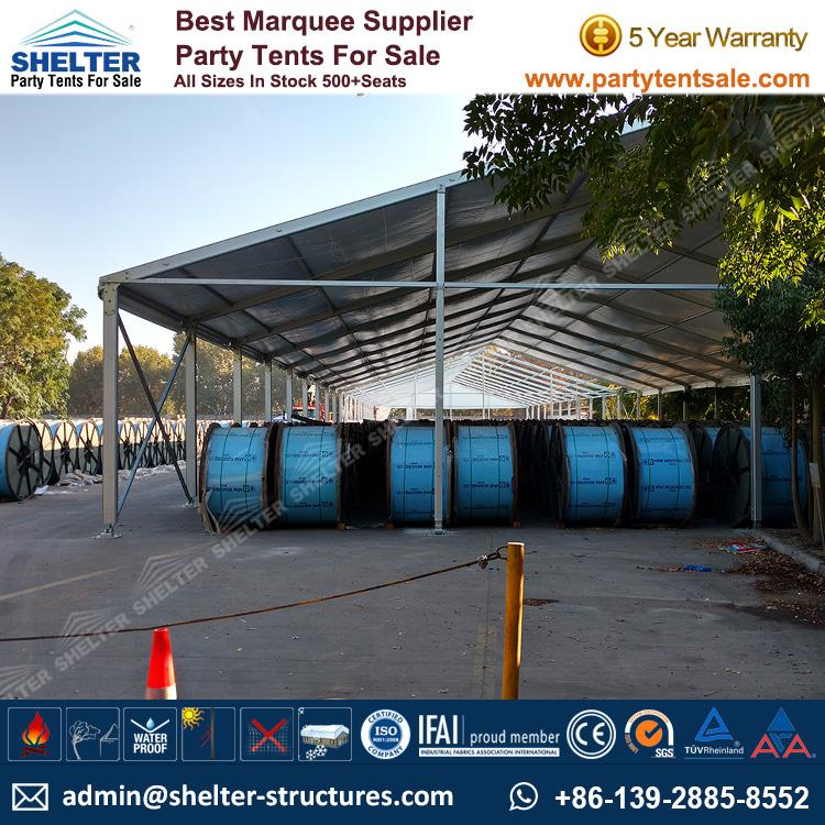 Shelter Party Tent Sale - Temporary Outside Storage - Warehouse Tent - Storage Tent - Tent for Storage - Temporary Structure - Party Tent for Sale (33)