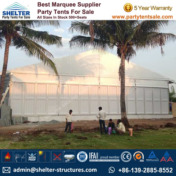 Shelter Party Tent Sale - Tent for Outside Party - 20x40m Party Marquee - Reception Tent - Wedding Marquee - Outdoor Marquee - Party Tent for Sale (4)