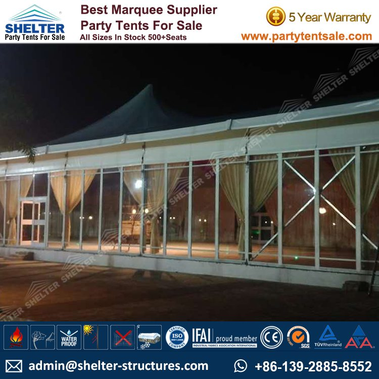 Shelter Party Tent Sale - Tent for Outside Party - 20x40m Party Marquee - Reception Tent - Wedding Marquee - Outdoor Marquee - Party Tent for Sale (5)