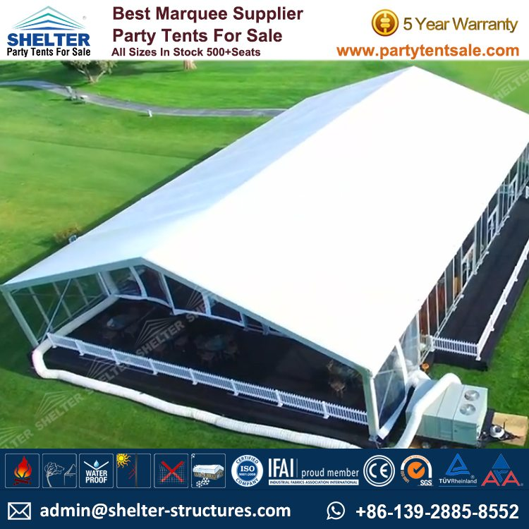 quality design 71bb1 706e3 Cost-effective Aluminium Marquee Tent for Charity Event - Shelter