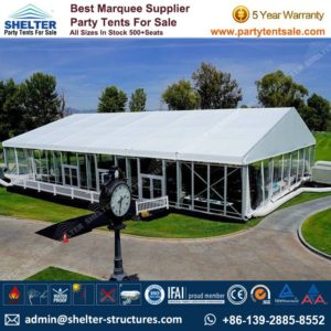 Shelter Party Tent Sale - Aluminium Marquee - Event Marquee with Glass Walls - Event Tent Sale - Temporary Event Structure (2)