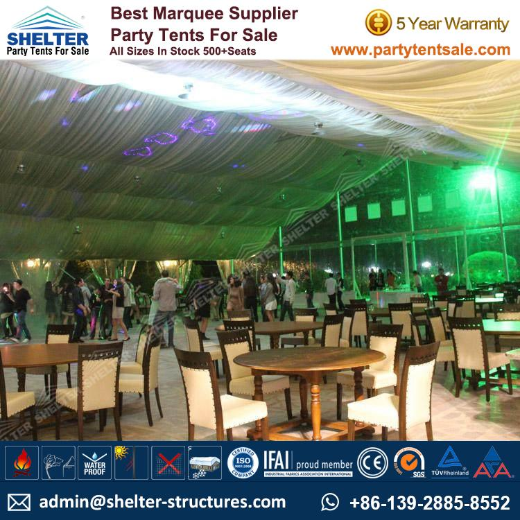 Clear Top Tent - Wedding Marquee - Party Tents for Sale
