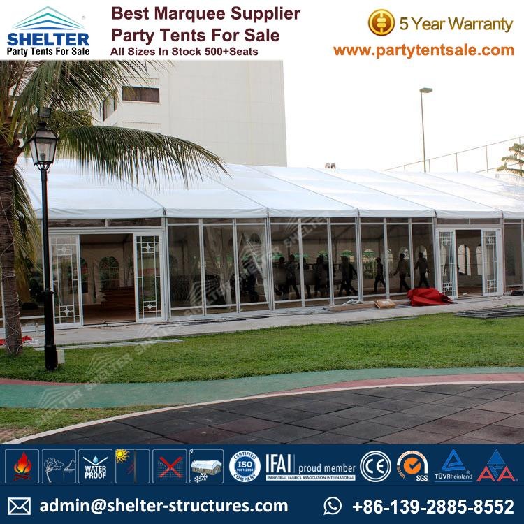 Large Glass Tent Host 300+ people - Event Tents, Party ...
