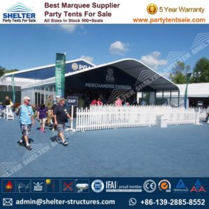 golf tents - large event tent - cooperate event marquees - shelter tent - 3