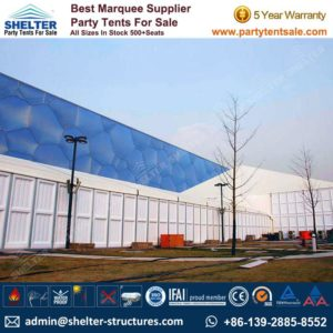 Tent Constructions - Shelter Party Tent Sale - Event Marquee - Event Tent - Commercial Tent - Tent for Event - Party Tent for Sale (215)