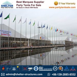 Tents for Trade Shows - Shelter Party Tent Sale - Exhibition Tent - Commercial Tent - Event Tent - Large Event Tent - Event Marquee - Party Tent for Sale (53)