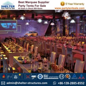 Launch Event Tent - Shelter Tent-Event Tents For Sale-Wedding Marquees-Party Tents-Clear span structures-Storage Tent 10-60m 731